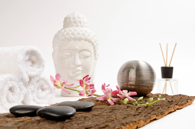 Wellness und Buddha, Feel good, Petra Bork / pixelio.de